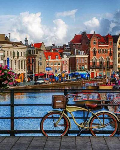 تور هلند - بلژیک - فرانسه 9 روزه