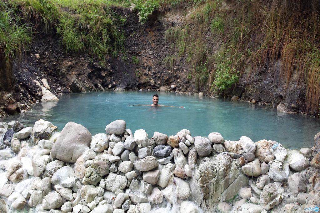 طبیعت ایران - چشمهی آب گرم