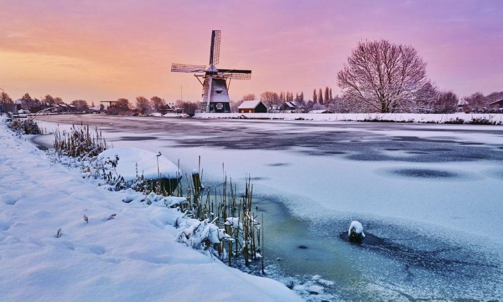مردم، جغرافیا و آب و هوای کشور هلند