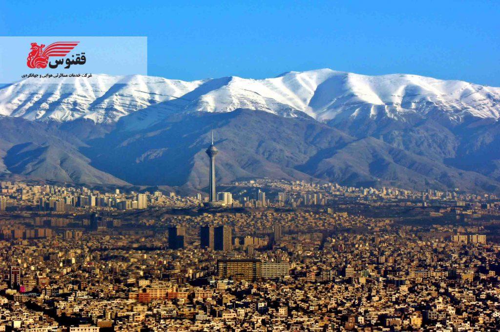 موقعیت جغرافیایی استان تهران