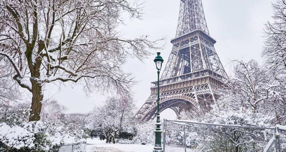 جغرافیا و آب و هوای پاریس