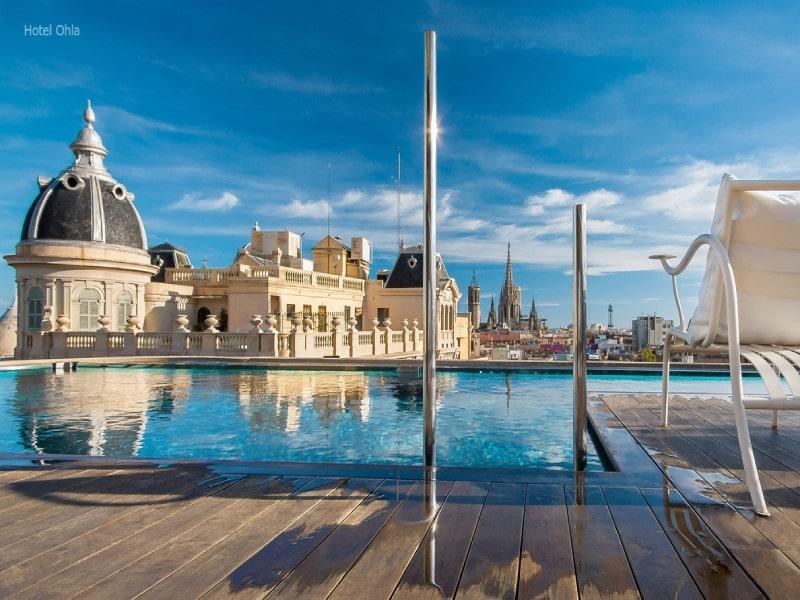 شهر بارسلونا یکی از شهرهای توریستی اسپانیا