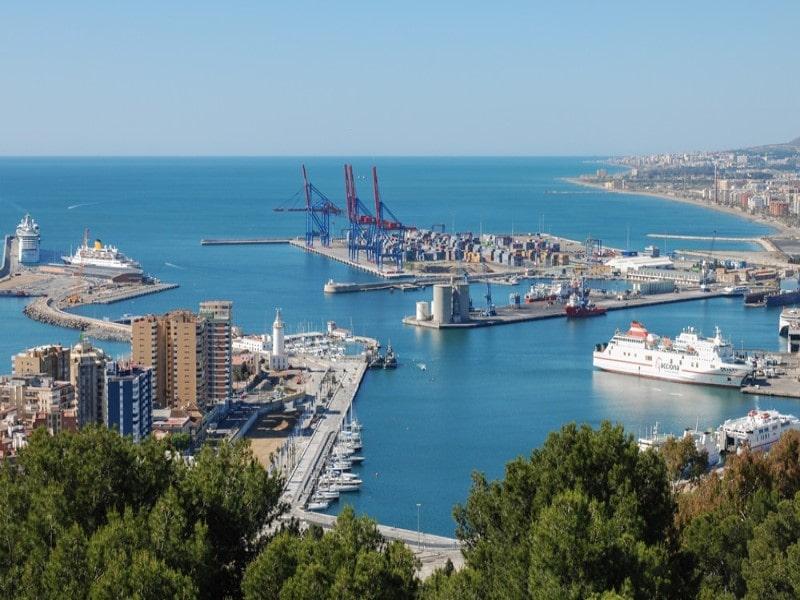 شهر مالاگا اسپانیا قدیمی ترین و مهم ترین شهر مدیترانه ای