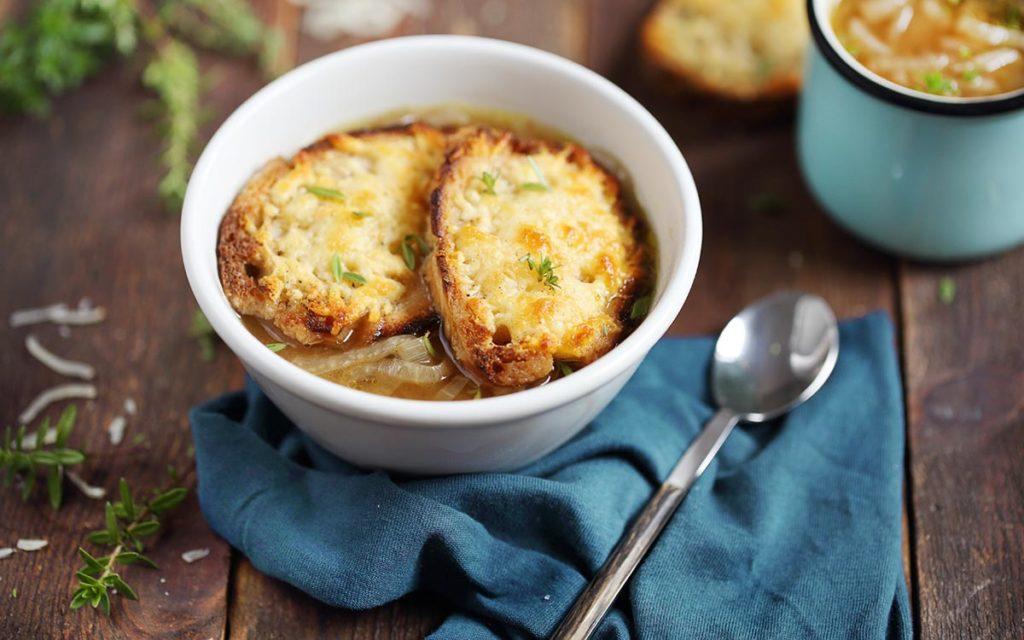 سوپ-پیاز - غذای فرنسوی