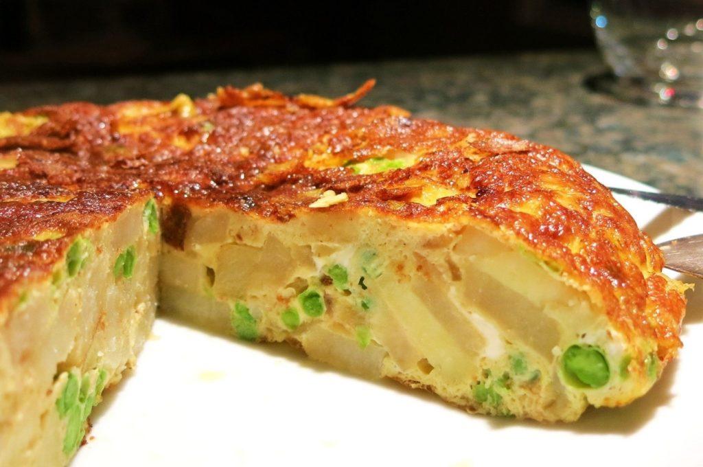 تورتیلا اسپانولا - غذاهای محلی اسپانیا