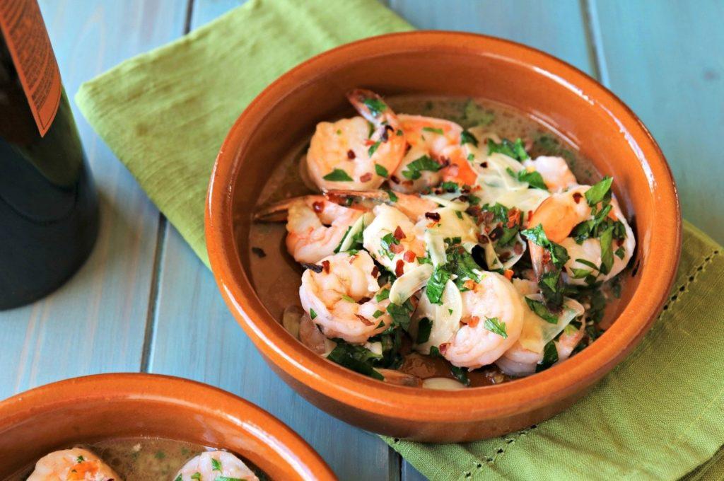 گامباس آجیلو - غذاهای محلی اسپانیا