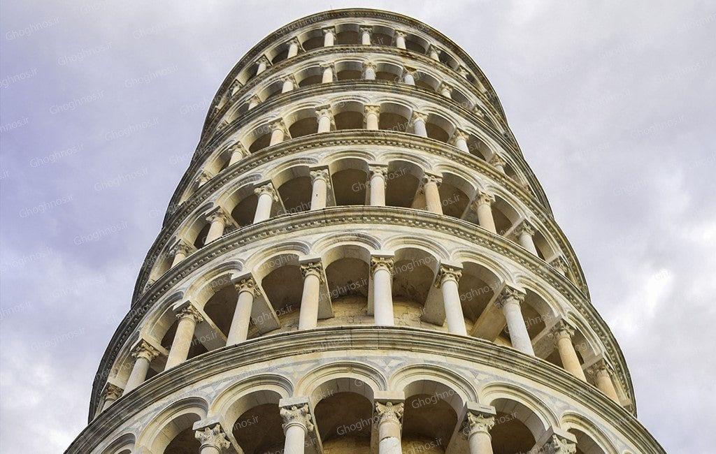 نمای برج پیزا