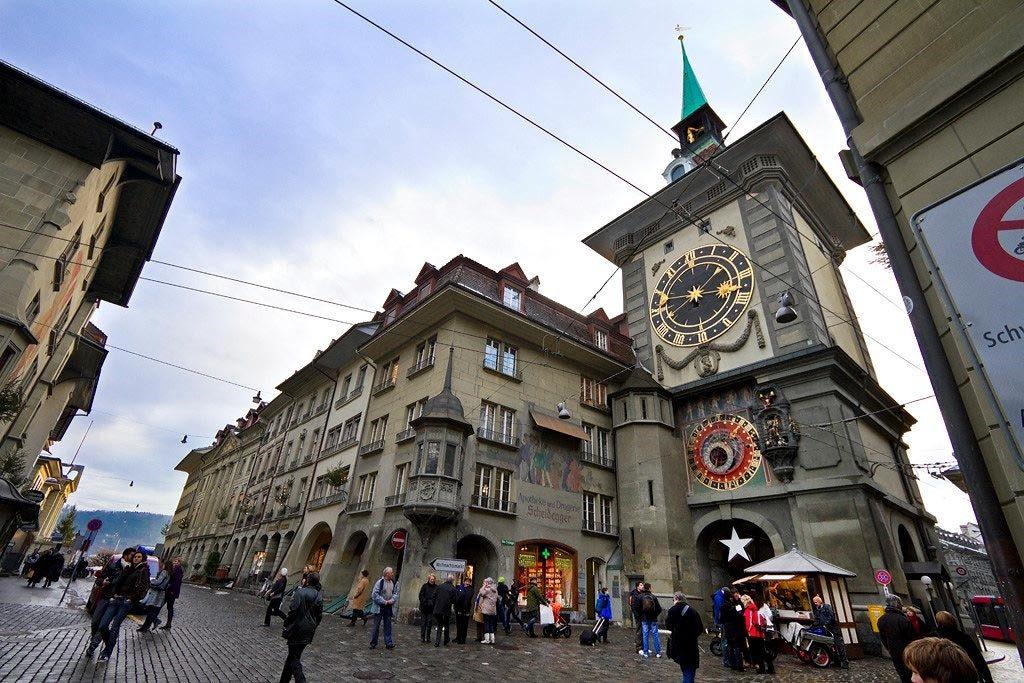 جاهای دیدنی سوئیس - برج ساعت برن