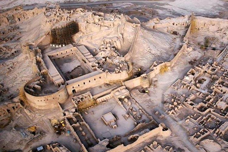 ارگ بم ؛ بزرگترین بنای خشتی جهان