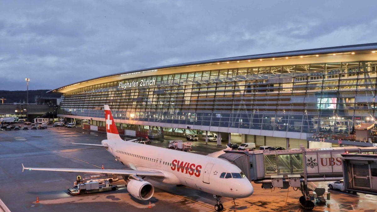 فرودگاه زوریخ ، بزرگترین فرودگاه سوئیس