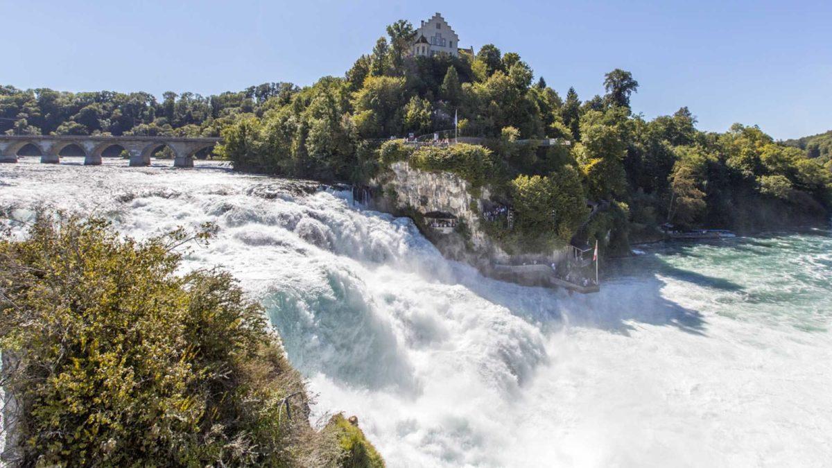 آبشار راین سوئیس ، بزرگترین آبشار اروپا