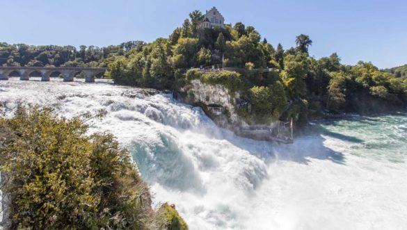 آبشار راین سوئیس، بزرگترین آبشار اروپا