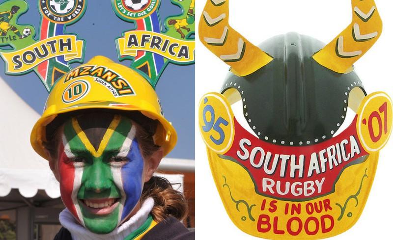 کلاه ماکاراپا و ووووزلا (Makarapa Hat &Vuvuzela)