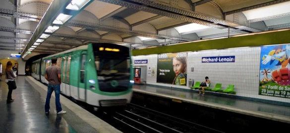 راهنمای استفاده از خطوط مترو پاریس
