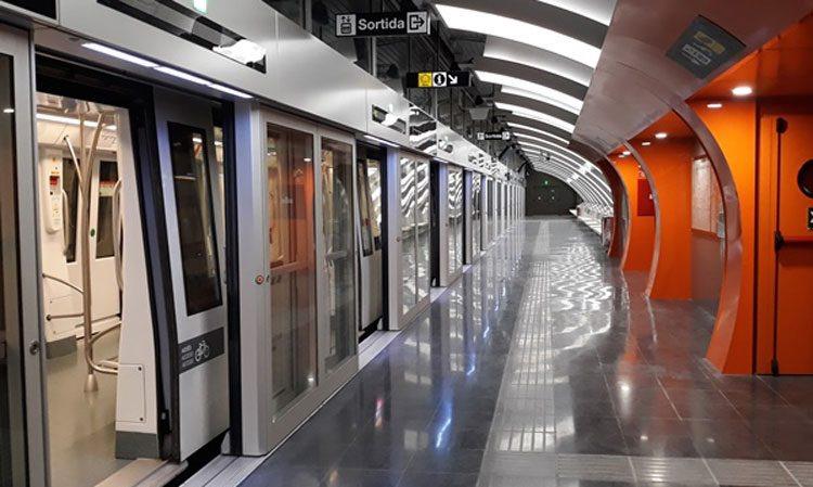 شبکه مترو در بارسلونا