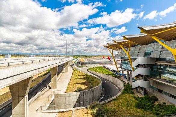 فرودگاه باراخاس مادرید، بزرگترین فرودگاه اسپانیا