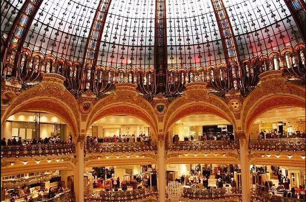 مرکز خرید گالری لافایت (Les Galeries LaFayette) - مراکز خرید پاریس