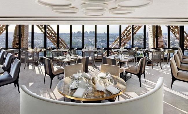 The Jules Verne - رستورانهای پاریس