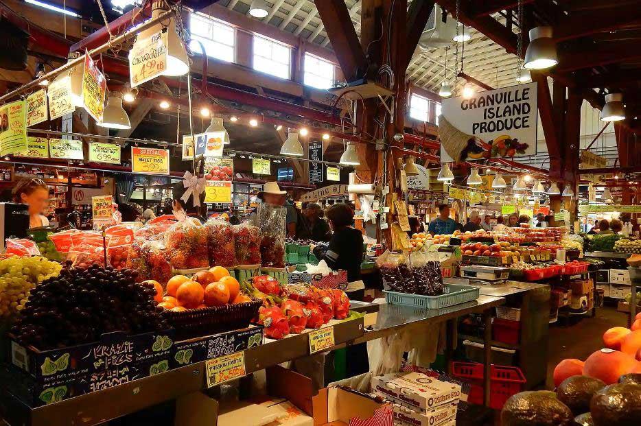 بازار جزیره گرانویل - مراکز خرید در ونکوور کانادا
