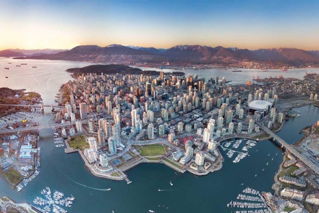 جغرافیا و آب و هوای ونکوور