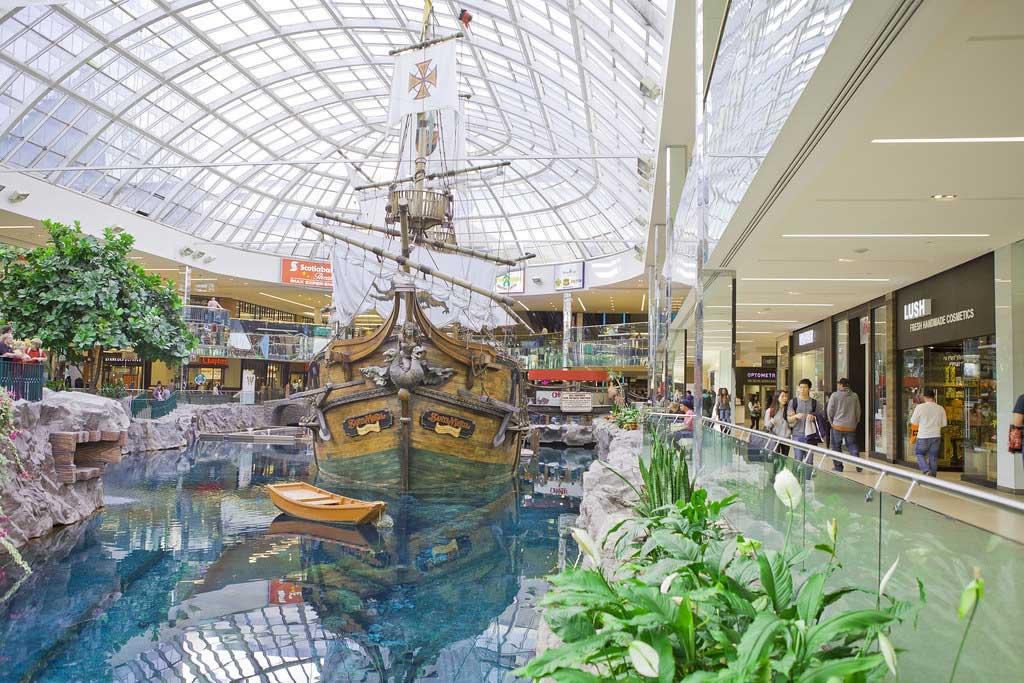 مرکز خرید West Edmonton Mall، ادمونتون - مراکز خرید در کانادا