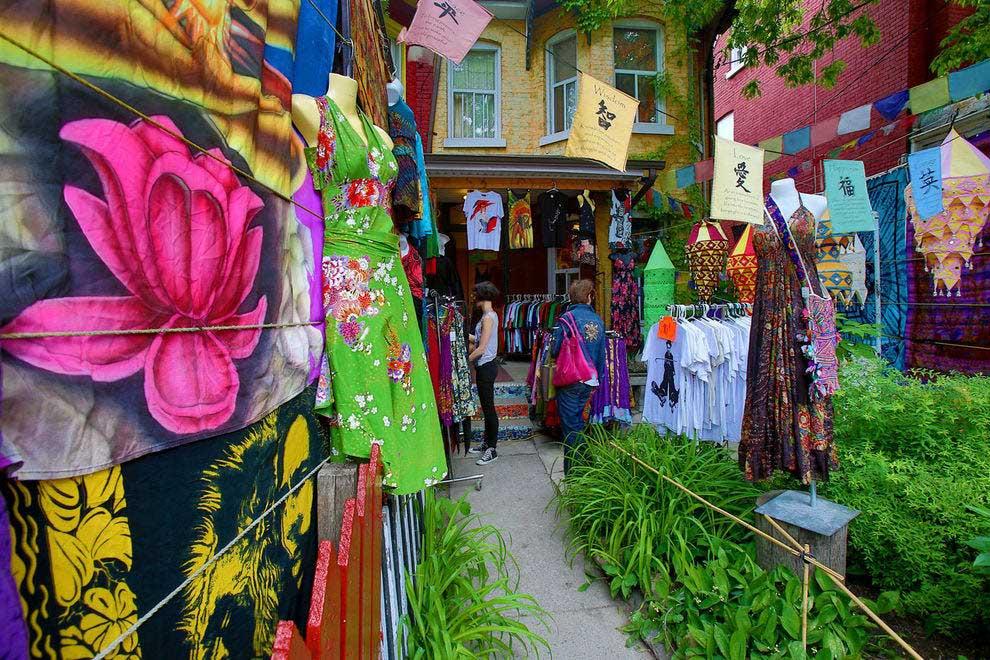 Kensington Market - مراکز خرید تورنتو