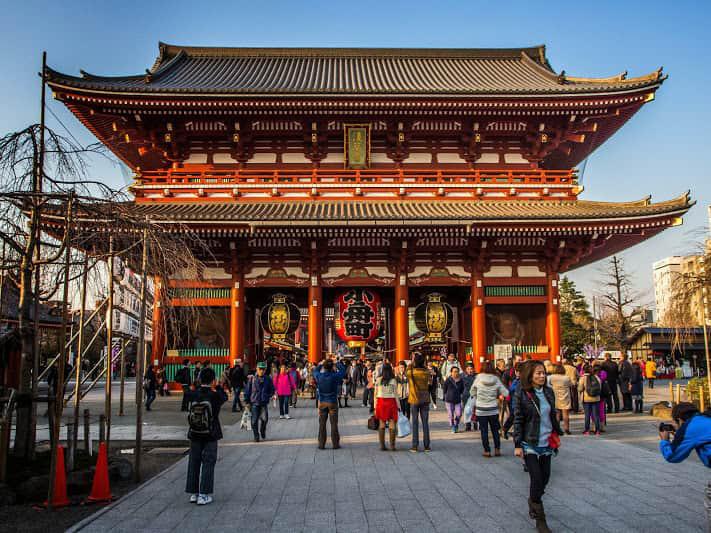 بازدید از معبد سنسوجی توکیو