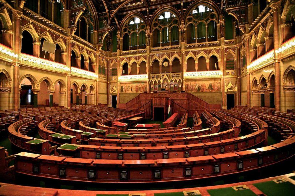 تالار پارلمان مجارستان