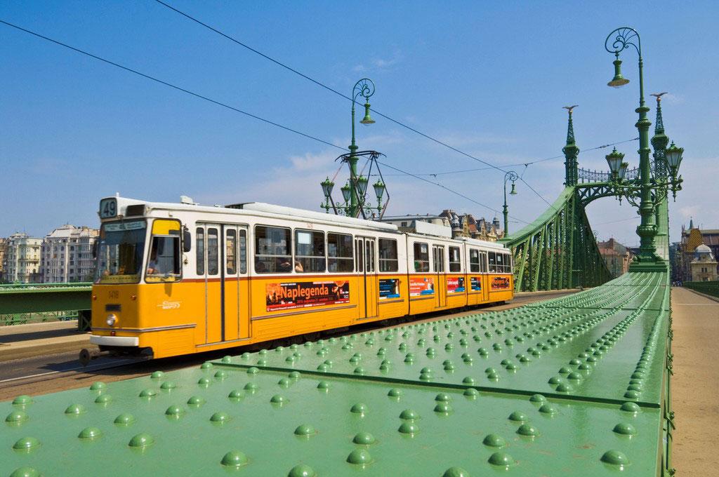تراموای بوداپست - حمل و نقل عمومی در بوداپست