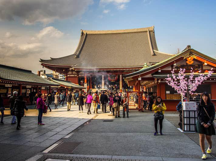 درباره معبد سنسوجی توکیو