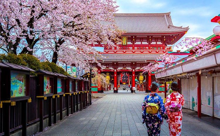 دسترسی به معبد سنسوجی