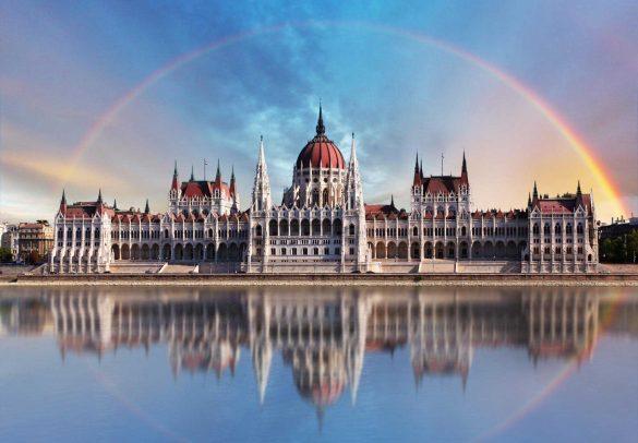 ساختمان پارلمان بوداپست، مهمترین نماد کشور مجارستان