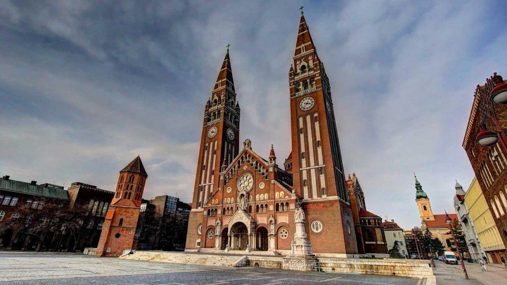 سگد - شهرهای مجارستان