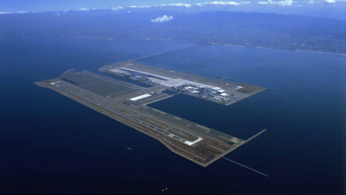 فرودگاه کانسای ژاپن، اولین فرودگاه شناور جهان