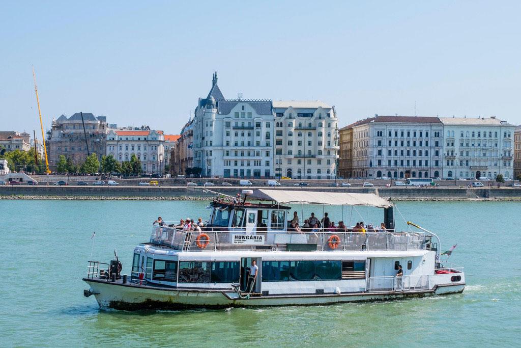 قایقهای شهری بوداپست - حمل و نقل عمومی در بوداپست