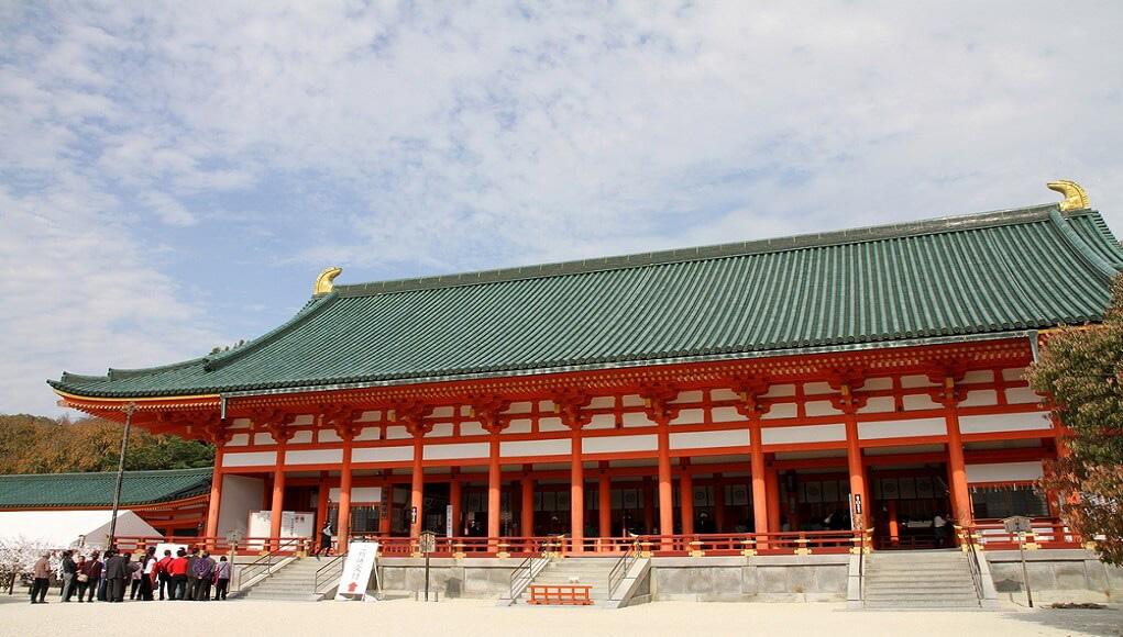 قصر سلطنتی کیوتو، نماد امپراتوری ژاپن