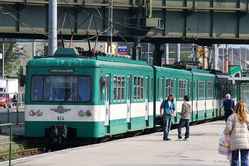 قطارهای برون شهری بوداپست