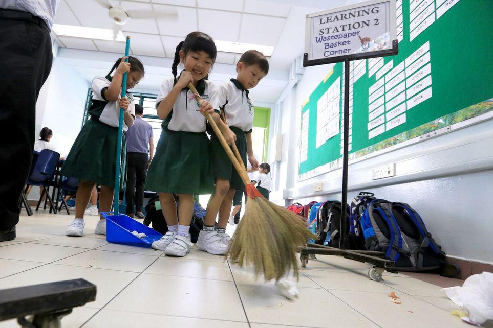 کودکان نظافتچی!