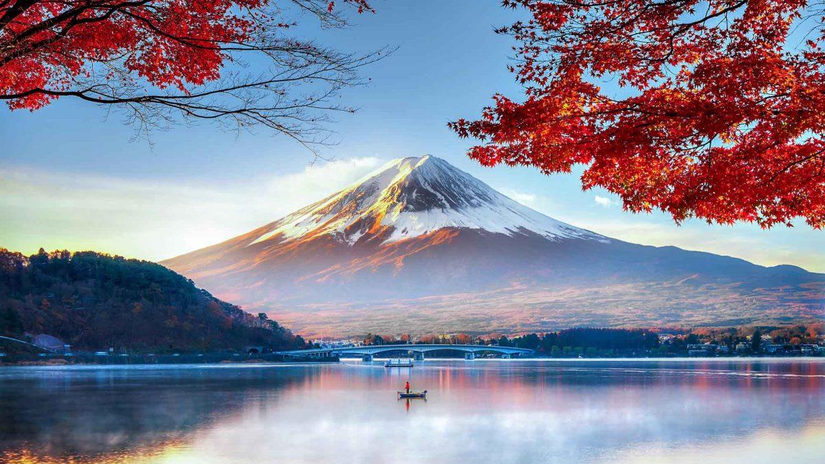 کوه فوجی، نماد مقدس ژاپن