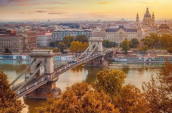 آب و هوای بوداپست در فصل پاییز - آب و هوای مجارستان