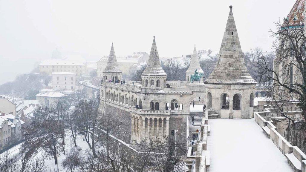 آب و هوای مجارستان در فصل زمستان