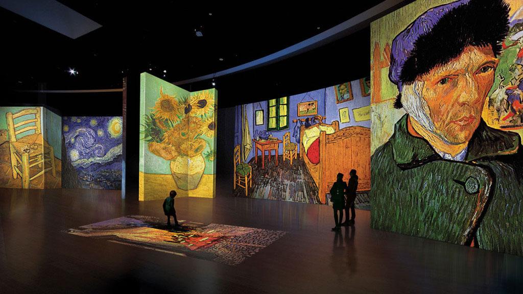 بازدید از موزه ون گوگ