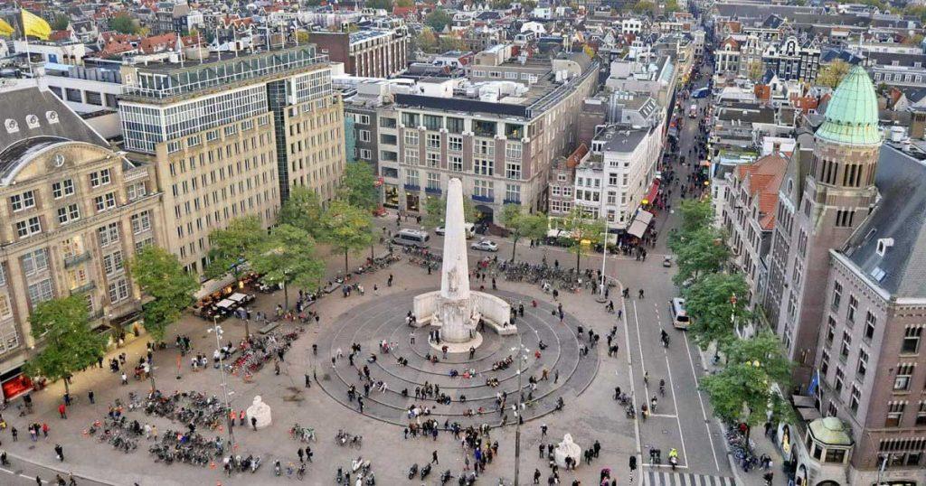 جاذبههای گردشگری اطراف میدان دام آمستردام