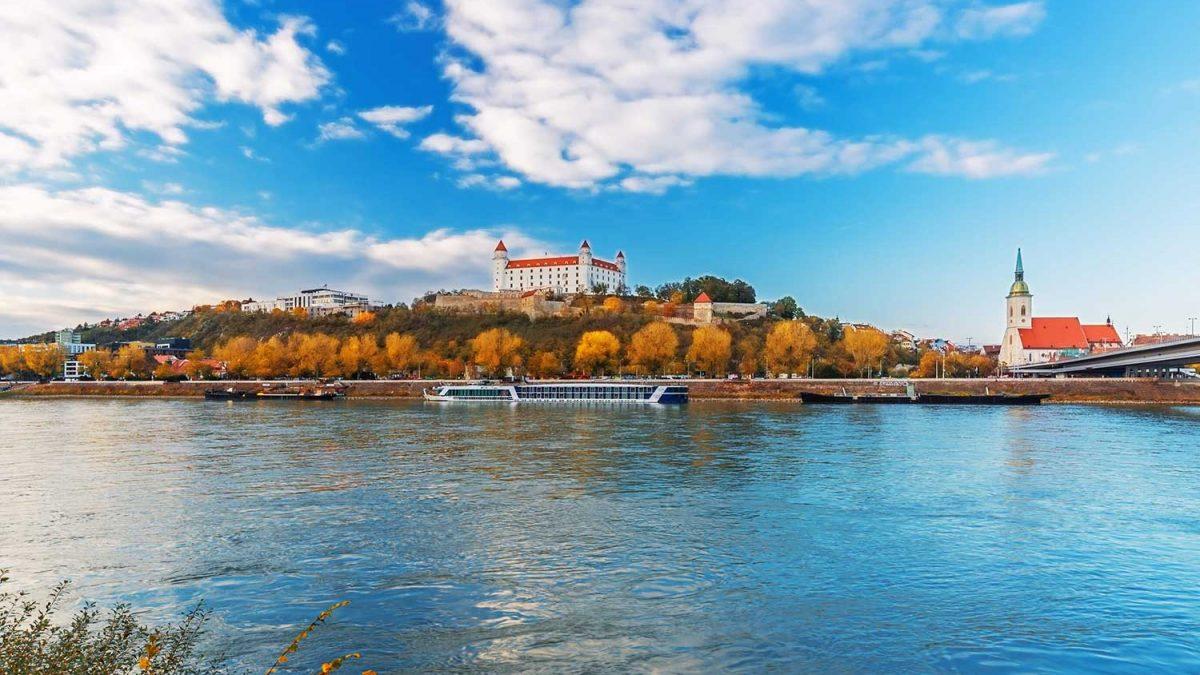 رودخانه دانوب، دومین رود بلند اروپا