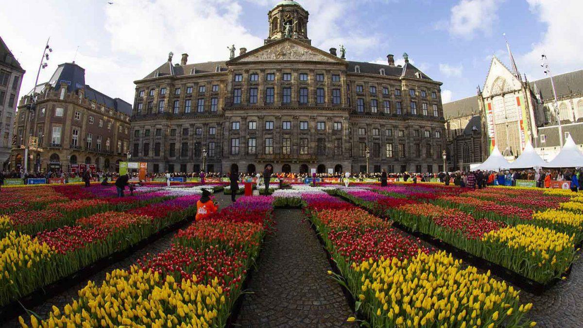 میدان دام آمستردام، مشهورترین میدان هلند