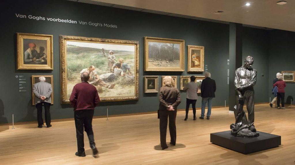 نمایشگاههای موزه ون گوگ