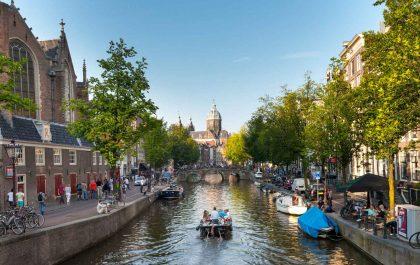 هرچه درباره کانالهای آبی آمستردام باید بدانید