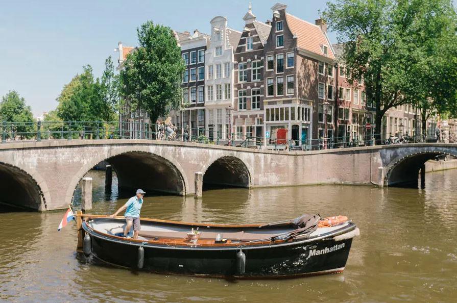 پلهای قدیمی آمستردام