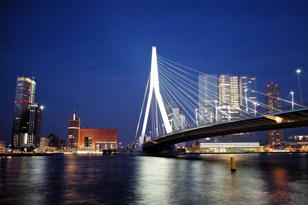 پل اراسموس (Erasmus Bridge)