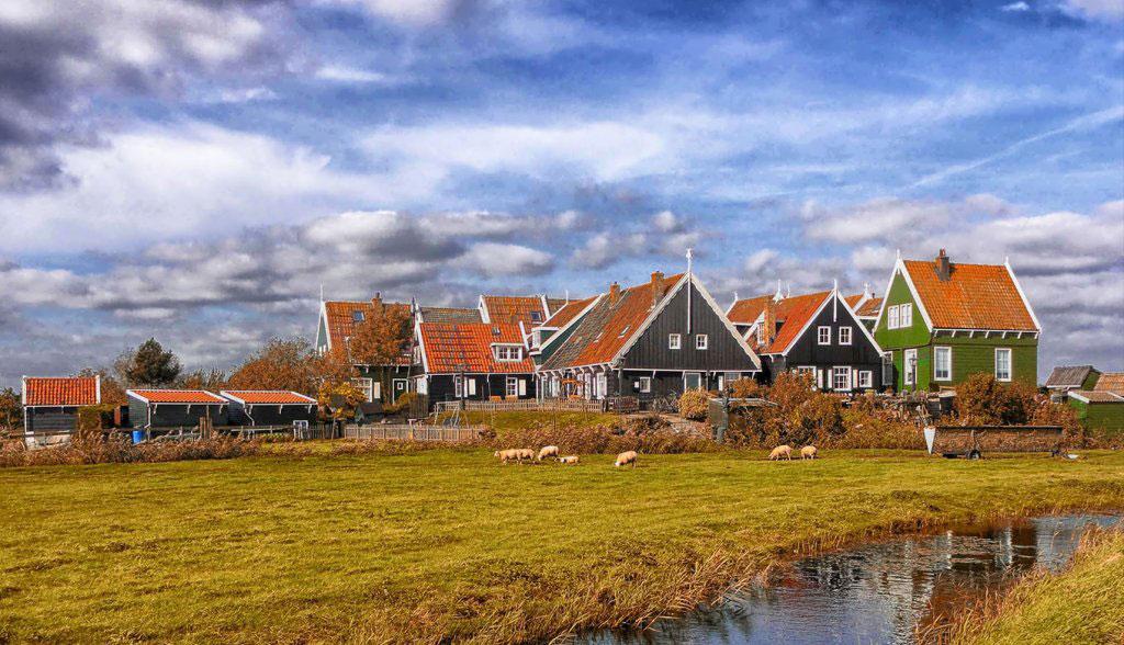 آب و هوای هلند در پاییز